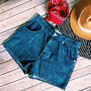 Madewell Pants - NWT Madewell Westside Jean Shorts