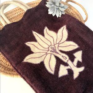 Vintage wool handbag
