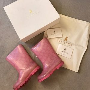 Gucci Other - Authentic Gucci Rainboots for girls