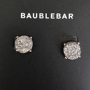 BAUBLEBAR Druzy Stud Earrings