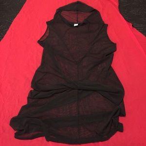 Blackmilk Dresses & Skirts - BlackMilk NWOT XL Hooded Massacre Dress