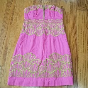 New Lilly Pulitzer Pink Dress