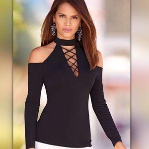 Tops - New cold shoulder blouse bogo!!!
