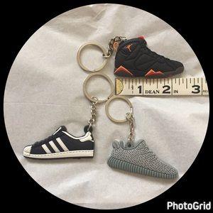 Jordan Other - NWOT SNEAKER keychains 👟