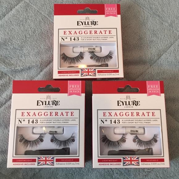 f26414df539 3/$12 EYLURE Exaggerate 143 Eyelashes. Listing Price: $12.00