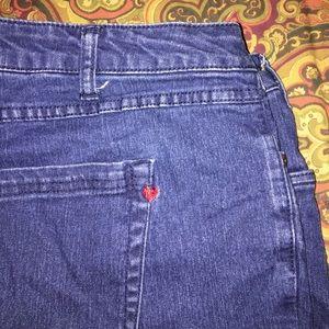Denim 24/7 Pants - Cute Shorts By Demin 24/7 Plus Size 18W