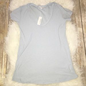 James Perse Tops - NWT James Perse Baby Blue T Shirt (Size 2)