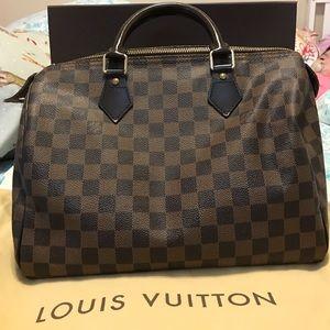 Louis Vuitton Handbags - LV Damier Speedy 30