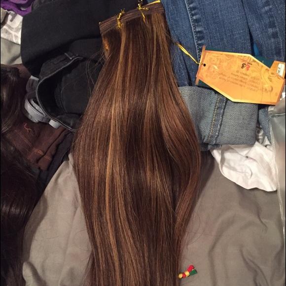 Accessories Brown Golden Blonde Hair Extensions Poshmark