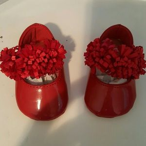 Baby Deer Other - Red Mary Jane shoes