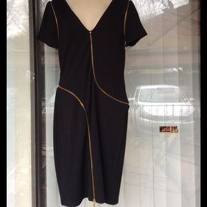 TED BAKER London removable sleeves dress