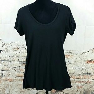 James Perse Tops - NWT James Perse black Tee Shirt Cotton Size 3