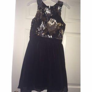 Little Mistress Dresses & Skirts - black prom dress