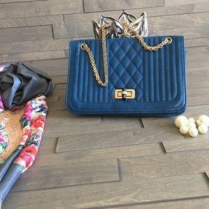 no name Handbags - Blue hobo Handbag 👜