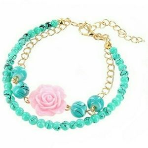 October Love Jewelry - Beautiful Spring Stone Bracelet