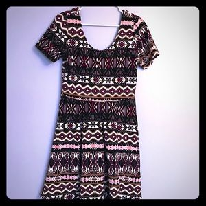 Francesca's Collections - tribal patterned dress