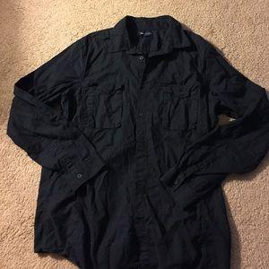 GAP Other - SaleGap Men's XL Slim 100% Cotton Blk L/S shirt