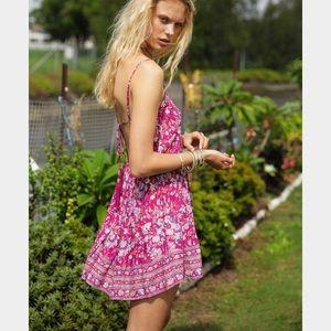 Arnhem Dresses & Skirts - Arnhem Desert Flower Mini Dress in Vintage Pink
