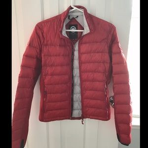 Canada Goose Jackets & Blazers - Canada Goose hybridge lite jacket red small 0-4