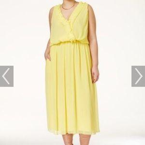 Rachel Roy Dresses & Skirts - Rachel Roy yellow dress. A Beyoncé feel