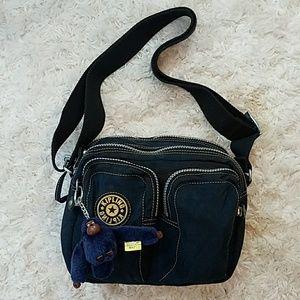 Kipling Handbags - Kipling Navy Nylon Crossbody