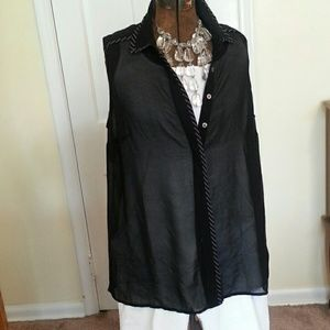 Coldwater Creek Tops - Coldwater Creek Sleeveless Blouse