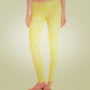 ALO Yoga Pants - ALO AIRBRUSH LEGGING☀️yellow/pink