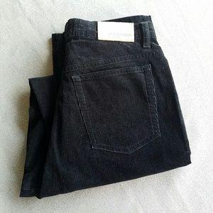 CAMBIO Pants - CAMBIO Black Velvet Corduroy High Waisted Pants