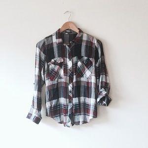 Rhapsody Tops - Checkered shirt