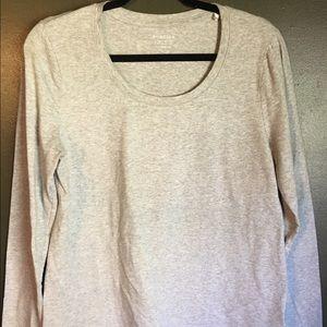 Sonoma Tops - Long sleeved gray shirt
