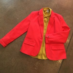 Jackets & Blazers - Cajun color cotton lined blazer 🦀❤️