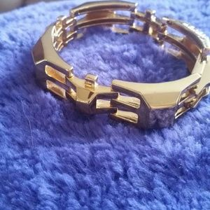 Stella & Dot Jewelry - Gold plated  Luxor Link bracelet Ltd edition