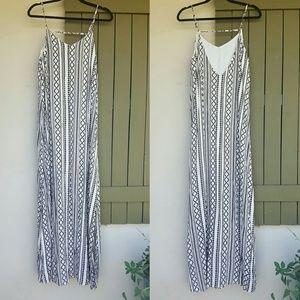 She and Sky Dresses & Skirts - Tribal Print Maxi Dress