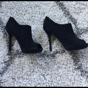 Pour la Victoire Shoes - Pour La Victorie Black Booties - sz 8!