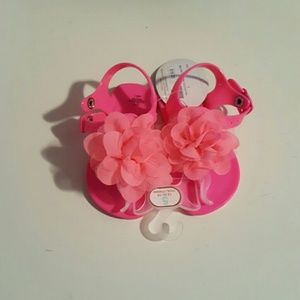 Baby Deer Other - Pink Jelly Sandals