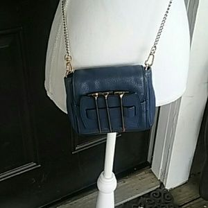 Kelsi Dagger Handbags - Kelsi Dagger Royal Blue Crossbody Wallet