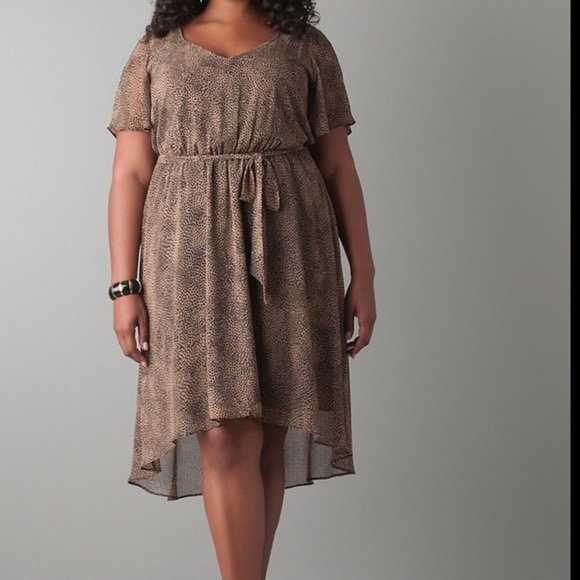 1e4b275af45 Lane Bryant Dresses   Skirts - Lane Bryant Animal Print Dress Size 22
