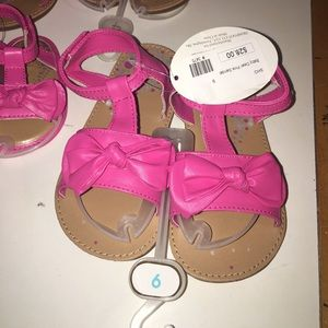 Baby Deer Other - Hot Pink Sandal