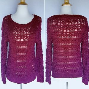 Pins and Needles Crochet Sweater