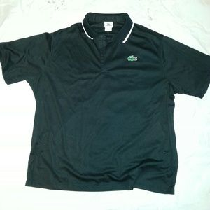 Lacoste Other - Authentic Lacoste Sport Black Polo sz 9 3XL