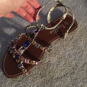 Traffic Shoes - New Jewel flat sandals