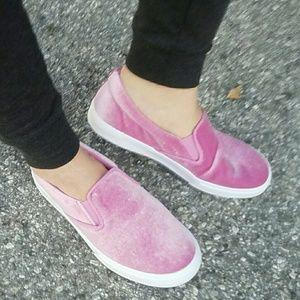 SARAH SIAH Shoes - Last 6, 6.5, 8 & 8.5!! Velvet Pink Sneakers