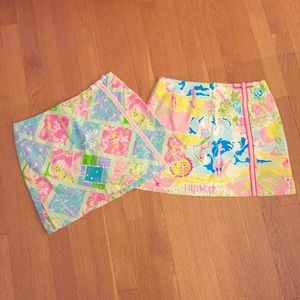 Lilly Pulitzer Pants - Lilly Pulitzer Bow Skort Bundle, Size 2 🌸