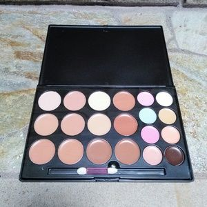 Cream concealer and corrector palette