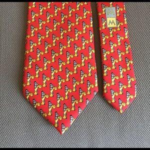 Men's tie  by Museum Musei, 💯 silk.Italy