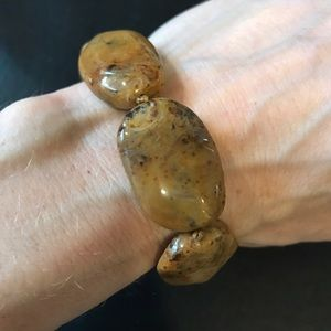 Jewelry - Set of three natural stone bracelets