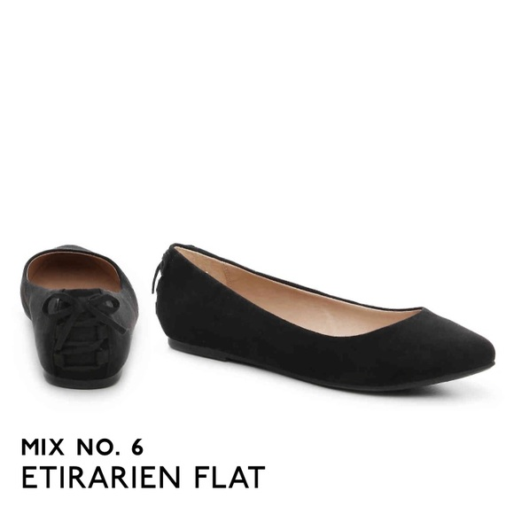 Dsw Black Ballet Flats With Bows On The