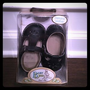 Baby Deer Other - Baby Deer T-strap Stichout Black Dress Shoe