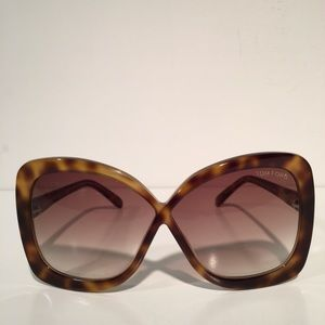 Tom Ford Accessories - Tom Ford Calgary Brown Square Sunglasses NIB