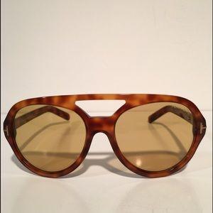 Tom Ford Other - Tom Ford Henri Brown Aviator Men's Sunglasses